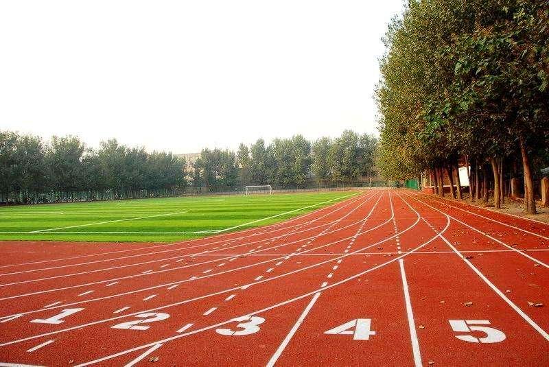 「塑胶跑道」跑道特点:塑胶跑道运动场简介
