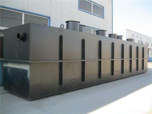 地埋式污水处理设备工作原理及特点