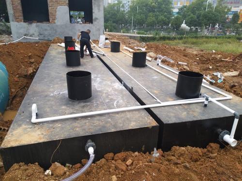 地埋式生活污水处理工艺