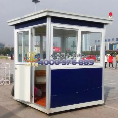 钢结构保安亭 专业设计 全国发货  品质保证