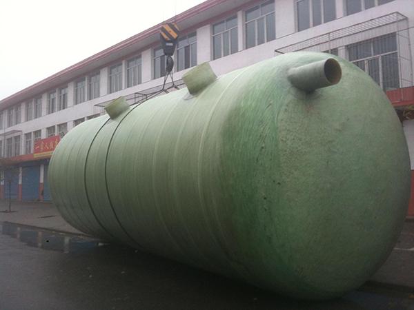 潮州地埋式玻璃钢化粪池适用于哪里?