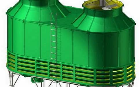 厂家对玻璃钢冷却塔进行分类介绍
