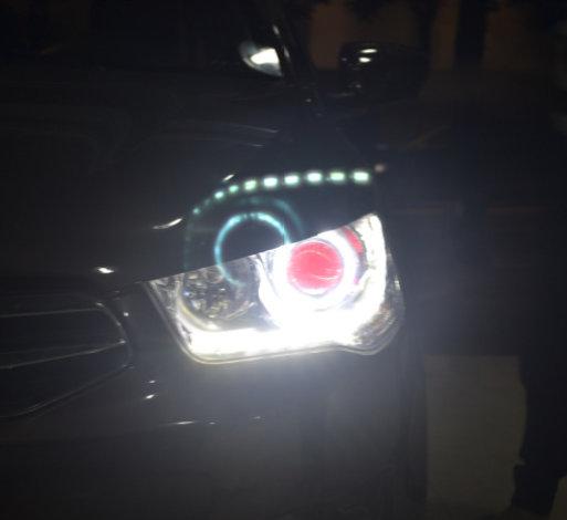 您的当前位置: 首 页 >> 案例展示 >> 雪铁龙车灯改装 爱丽舍车灯改装天使眼恶魔眼海拉5透镜欧司朗氙气灯