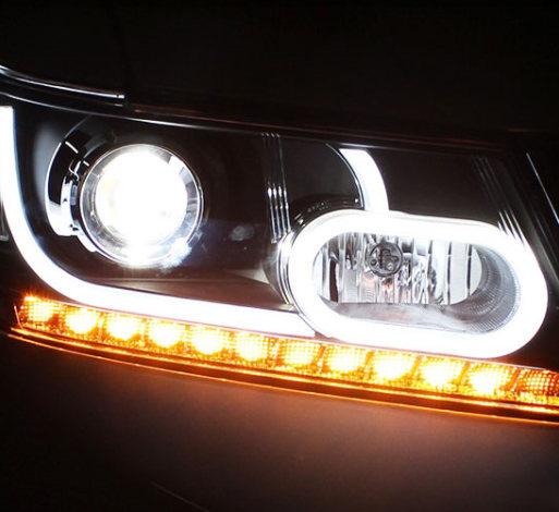 道奇酷威大灯总成酷威改装极光款氙气大灯酷威前大灯升级