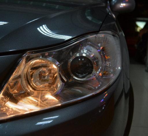 海拉车灯改装普力马车灯改装氙气灯透镜