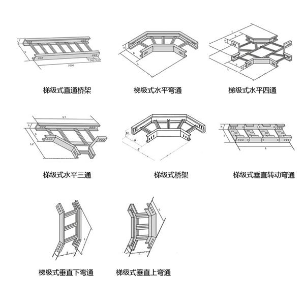 西安梯级式电缆桥架
