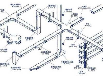 桥架补偿装置示意图