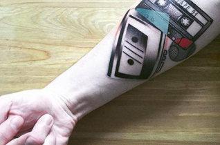 现在纹身采用的是什么技术?