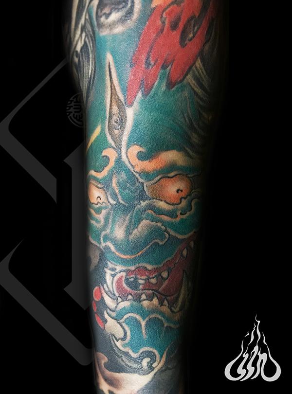 彩绘纹身-杭州彩绘纹身工作室