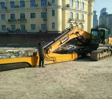 商河挖掘机改装案例