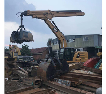 挖掘机伸缩臂改装案例
