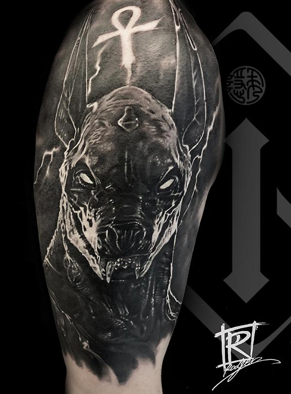 阿努比斯纹身欣赏