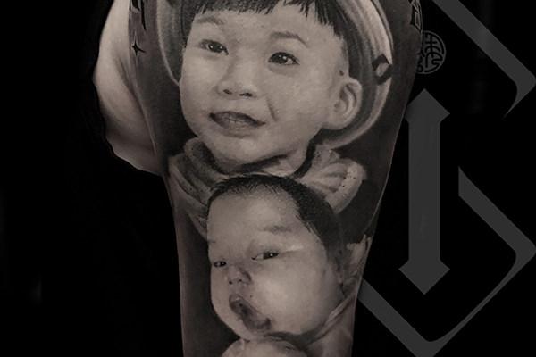 肖像纹身欣赏