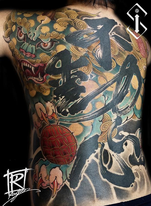 新传统纹身图案