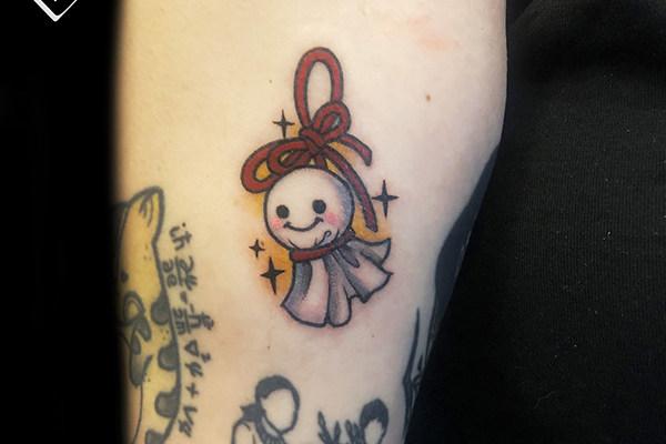 卡通纹身_卡通布偶纹身图片