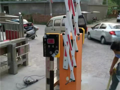 道闸停车系统制作