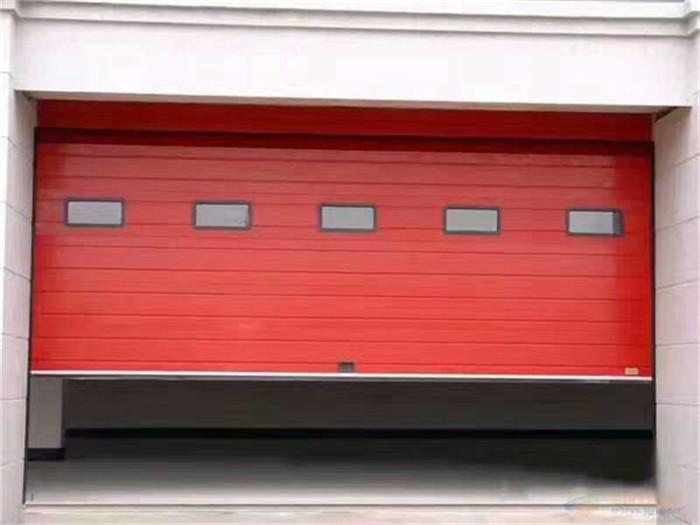 西安工业门安装