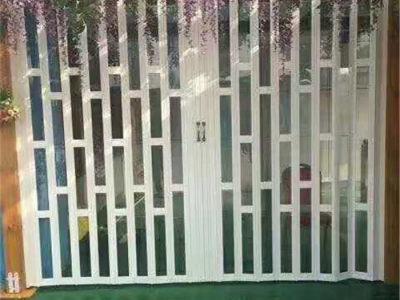 西安伸缩门安装
