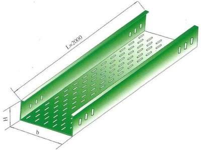 西安托盘式直通电缆桥架