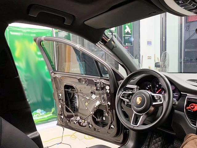 汽车隔音改装会不会受损?台州慧声保时捷汽车四门隔音改装升级