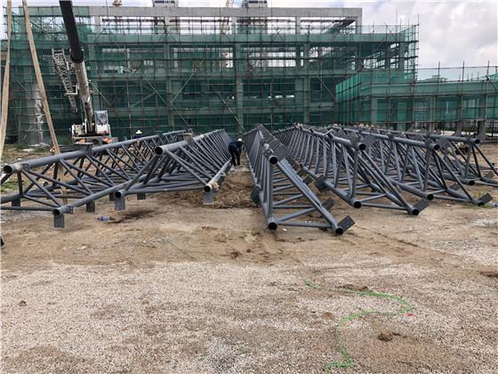 碧桂園鋼管架屋面工程2