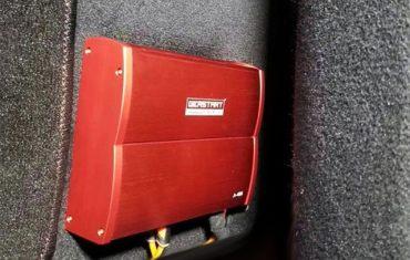 台州慧声汽车音响改装升级|尼桑天籁汽车音响改装|黄金声学GS265.2两分频|古桐A-406DSP