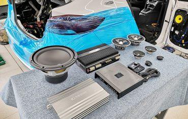 黄金声学套装改装案例分享!台州慧声现代领动汽车音响改装隔音升级